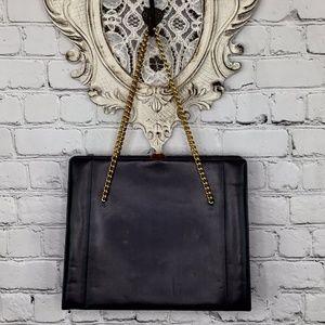 VINTAGE: Chain Handle Handbag